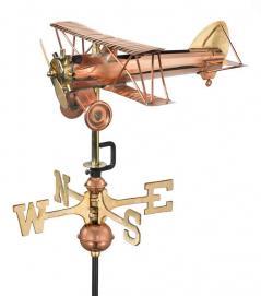 Garden Weathervane - Biplane