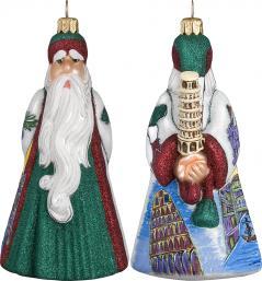 Italian Santa with Pisa