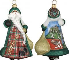 Scotland International Santa