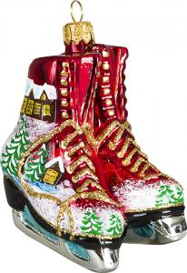 Holiday Ice Skates Ornament