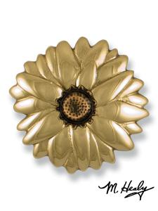 Unique Door Knocker Style: Sunflower