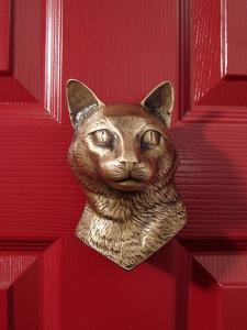 Kitty Cat Dog Door Knocker