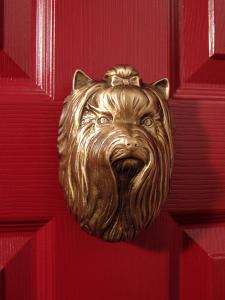 Yorkshire Terrier Dog Door Knocker