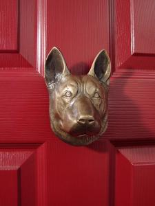 German Shepherd Dog Door Knocker
