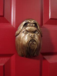 Shih Tzu Dog Door Knocker