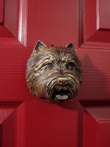 West Highland Terrier Dog Door Knocker