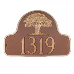 Decorative Arch Plaque - Style: Oak Tree