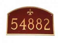 Decorative Arch Plaque - Fleur de Lis Prestige Arch