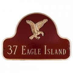 Decorative Arch Plaque - Style: Eagle