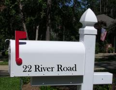 Custom Mailbox Personalization (mailbox NOT included)