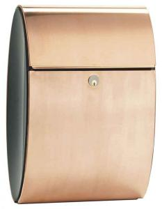 Allux Ellipse Copper Mailbox