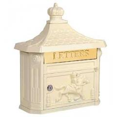 Victorian Mailbox - Color: Beige