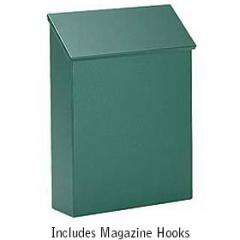 Traditional Vertical Mailbox - Color: Green