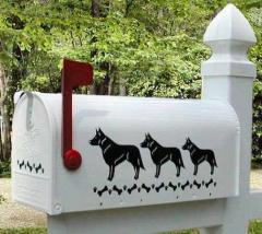 Australian Cattle Dog Mailbox