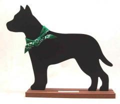 AmStaff Terrier Dog Breed Chalkboard