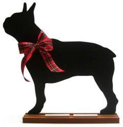 Boston Terrier Dog Breed Chalkboard