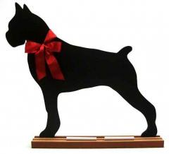 Boxer  Dog Breed Chalkboard
