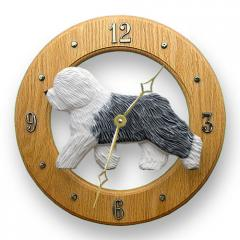 Old English Sheepdog Dog Wall Clock