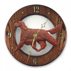 Irish Setter Dog Wall Clock