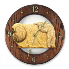 Pekingese Dog Wall Clock