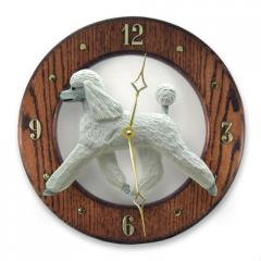 Poodle Dog Wall Clock