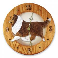 Shetland Sheepdog Dog Wall Clock