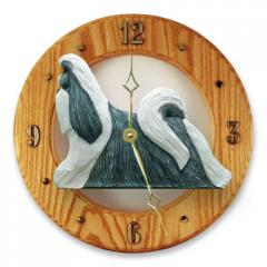 Shih Tzu Dog Wall Clock