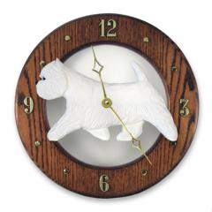 West Highland Terrier Dog Wall Clock
