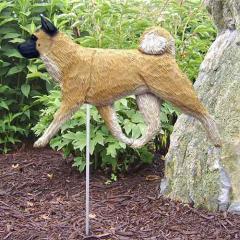 Akita Dog Garden Stake