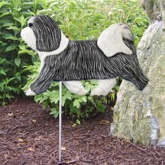 Havanese Dog Garden Stake