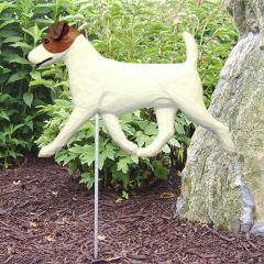 Jack Russell Terrier Dog Garden Stake