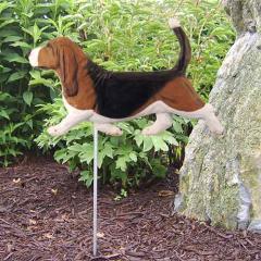 Basset Hound Dog Garden Stake