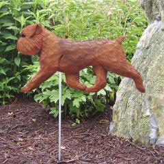 Brussels Griffon (Natural) Dog Garden Stake