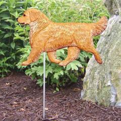 Golden Retriever Dog Garden Stake