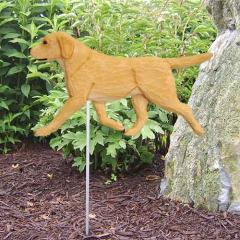 Labrador Retriever Dog Garden Stake