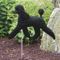 Poodle Dog Garden Stake