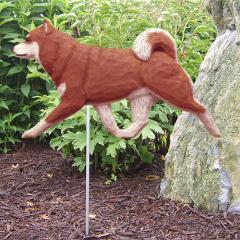 Shiba Inu Dog Garden Stake