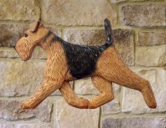 Airedale Terrier Dog Wall Art