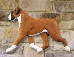 Boxer, Natural Dog Wall Art