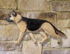 German Shepherd Dog Wall Art