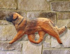 Leonberger Dog Wall Art - Close Up