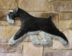 Schnauzer (Natural) Dog Wall Art