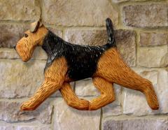 Welsh Terrier Dog Wall Art