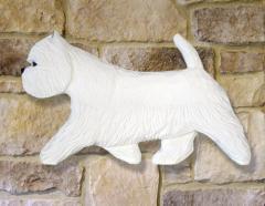 West Highland Terrier Dog Wall Art