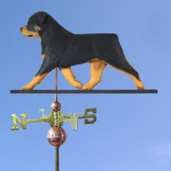 Rottweiler Dog Weathervane
