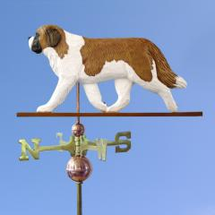 Saint Bernard Dog Weathervane