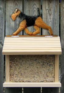Welsh Terrier Bird Feeder