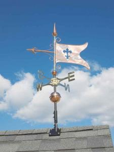Banner Copper Weathervane