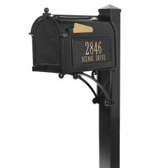 Superior Mailbox Package - Black