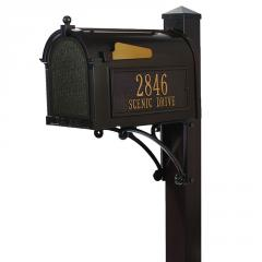 Superior Mailbox Package - French Bronze